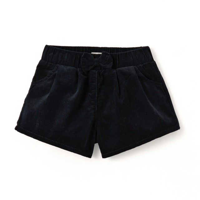 Velour Shorts, 1 Mth- 3 Years