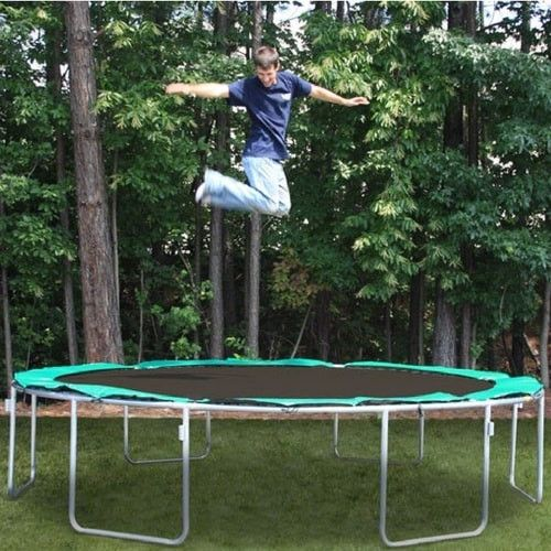 Magic Circle 13'6 FT Round Trampoline with 450 lb Weight Limit