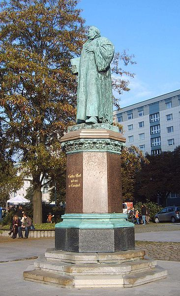 Lutherdenkmal Magdeburg