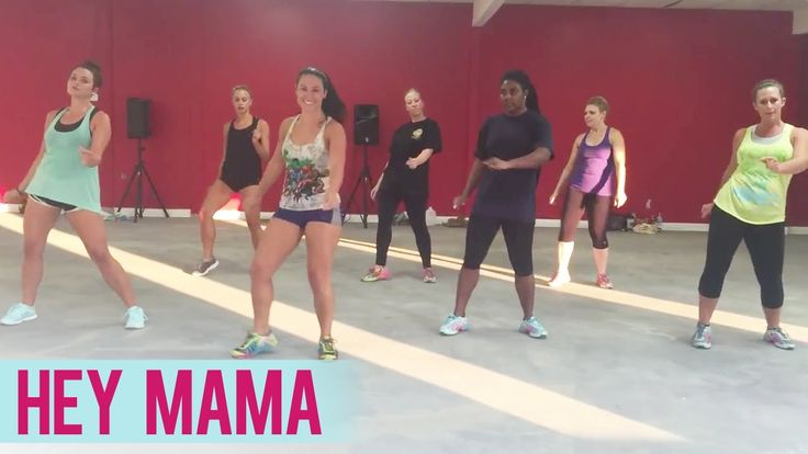 David Guetta - Hey Mama ft. Nicki Minaj, Bebe Rexha  & Afrojack  Jessica shows her usual tough aerobic Zumba with some great diverse moves. Love her videos.