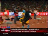 Keniano Aprende A Lanzar La Jabalina Gracias A YouTube Y Gana El Campeonato Mundial #Video