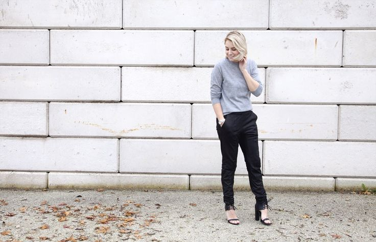 Outfit | Cashmere & Leather
