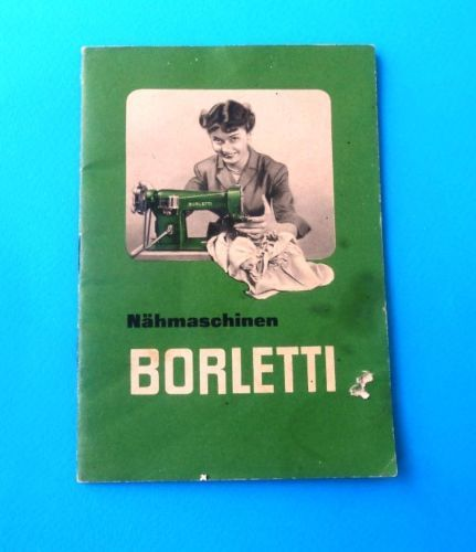 borletti sewing machine