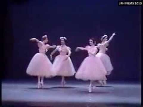 'Pas de Quatre' - Alicia Alonso, Carla Fracci, Ghislaine Thesmar and Eva...
