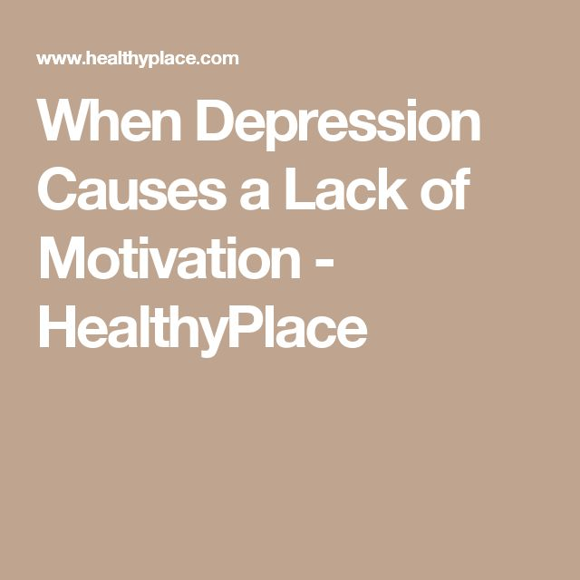 Regain Motivation With a Depression Action Plan