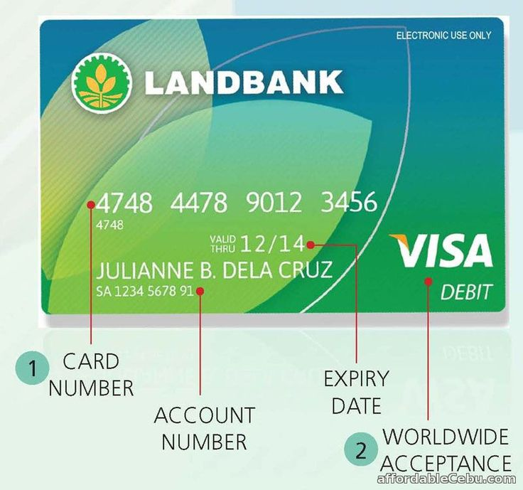 You may be troubled or confused where to find the account number of your LandBank ATM Card. Where can you actually see the account number of your atm card?  Read more: http://www.affordablecebu.com/load/banking/where_to_find_the_account_number_of_your_landbank_atm_card/13-1-0-30145