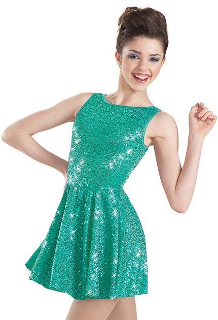 Weissman™   Sequin Back Bow Dress