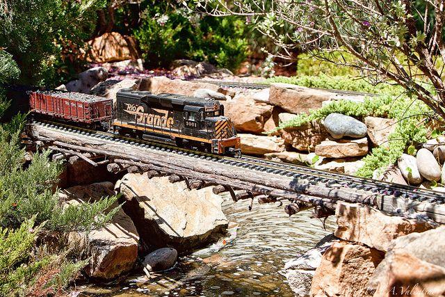 Clark Garden Railroad by Paul A Valentine, via Flickr