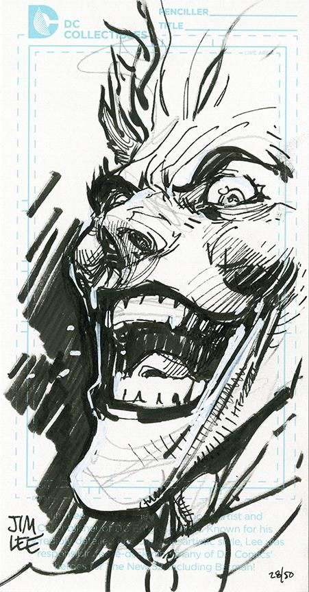 The Joker by Jim Lee * - Art Vault