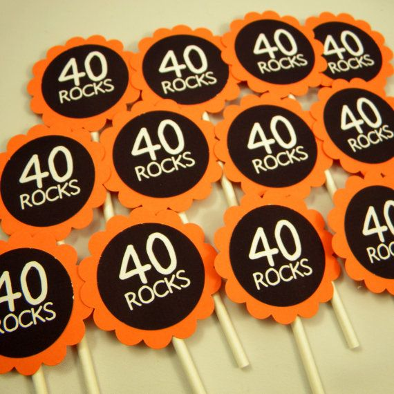 40 Rocks - maybe with 40 Pop Rocks candy packs?