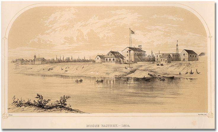 Moose Factory, 1854