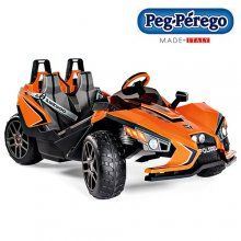 The 2 seat peg perego 12v slingshot is a super car for budding speedsters.