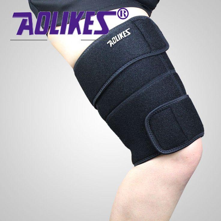Best Pulled Hamstring Strain Support for Injury - Torn Hamstring Brace for Tendinitis, Leg Pain, Muscle Pull or Strain, Soreness