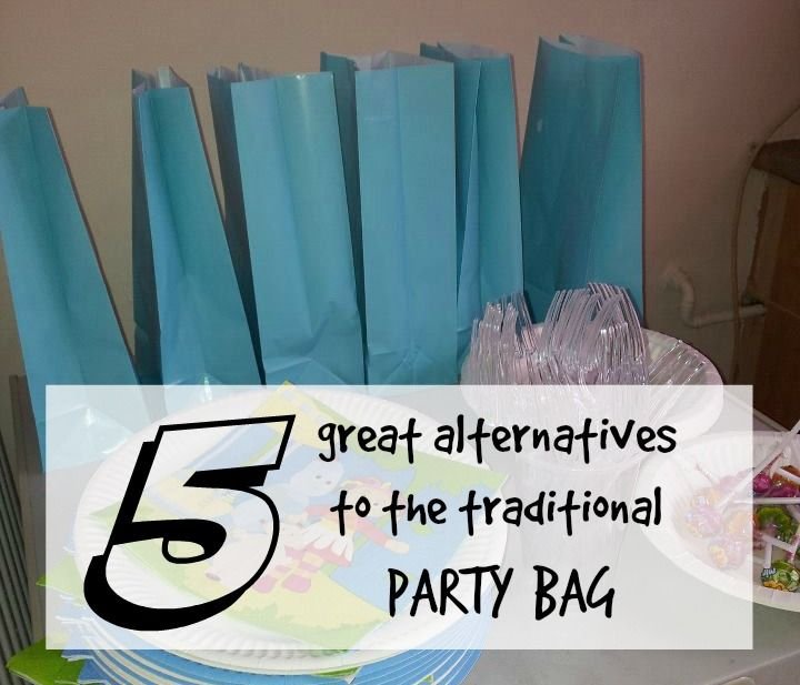 5 great alternatives to the traditional party bag