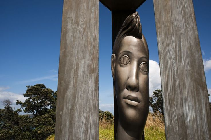 Sculpture on the Gulf - Art Trail at Waiheke Island (Image of Terry Stringer work)
