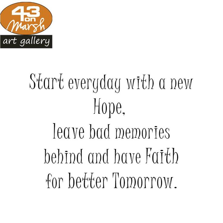 Start everyday with a new hope. #quote #hope #art