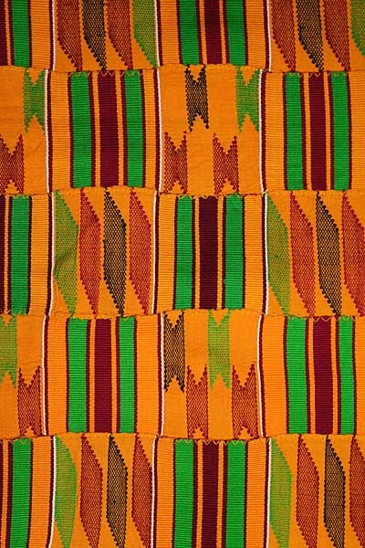 http://www.blackstarsquare.com/ Africa | Woven Kente clothThe icon of African cultural heritage around the world, Akan kente is identified by its dazzling, multicolored patterns of bright colors, geometric shapes, and bold designs. Kente characterized by weft designs woven into every available block of plain weave is called adweneasa. The Akan people choose kente cloths as much for their names as their colors and patterns.
