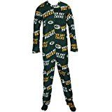 Green Bay Packers NFL Wildcard Unionsuit Pajamas (Small)