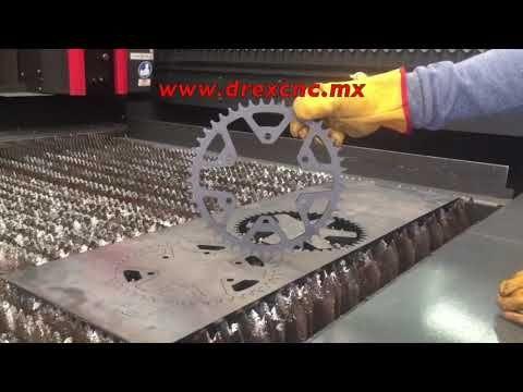 Procesos metalicos servicio maquila corte laser chorro de agua cizalla doblez maquinados - YouTube