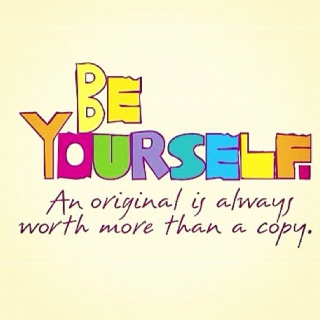 Maya Angelou Quote People Will For Get: Be Yourself. Not A Copycat.
