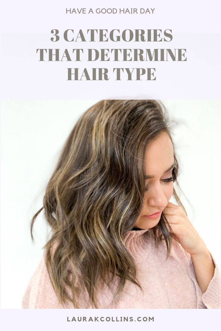 3 Categories That Determine Hair Type | Tips for thick hair, Hair type,  Fine thick hair