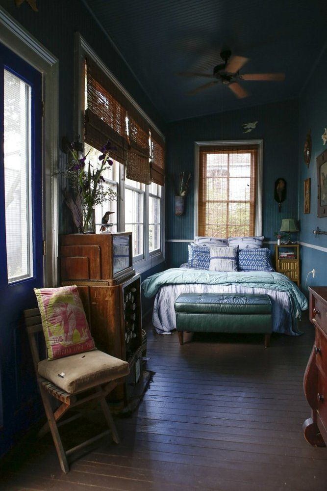 house tour a moody mysterious new orleans home - Long Bedroom Design