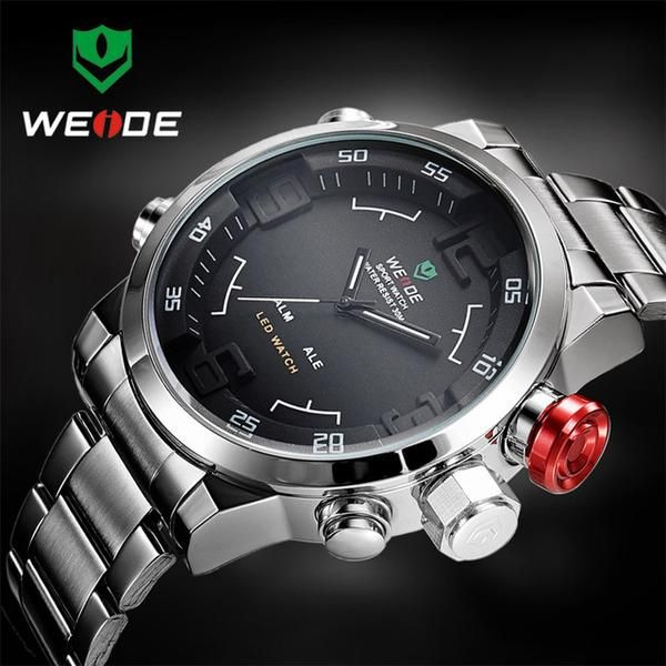 the venturer analog digital dual display watch snazzybiz