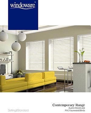 Austro Woodlook – Fauxwood Blinds |