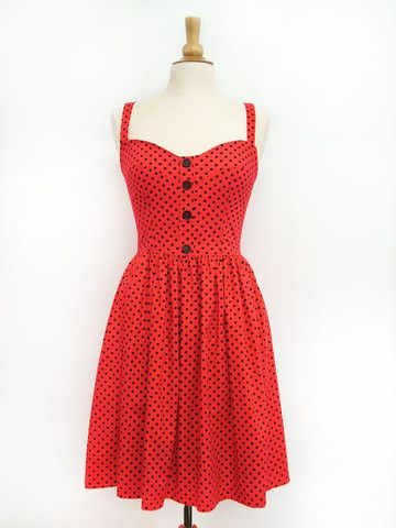 Bingo Dress- Ladybug - Swonderful Boutique