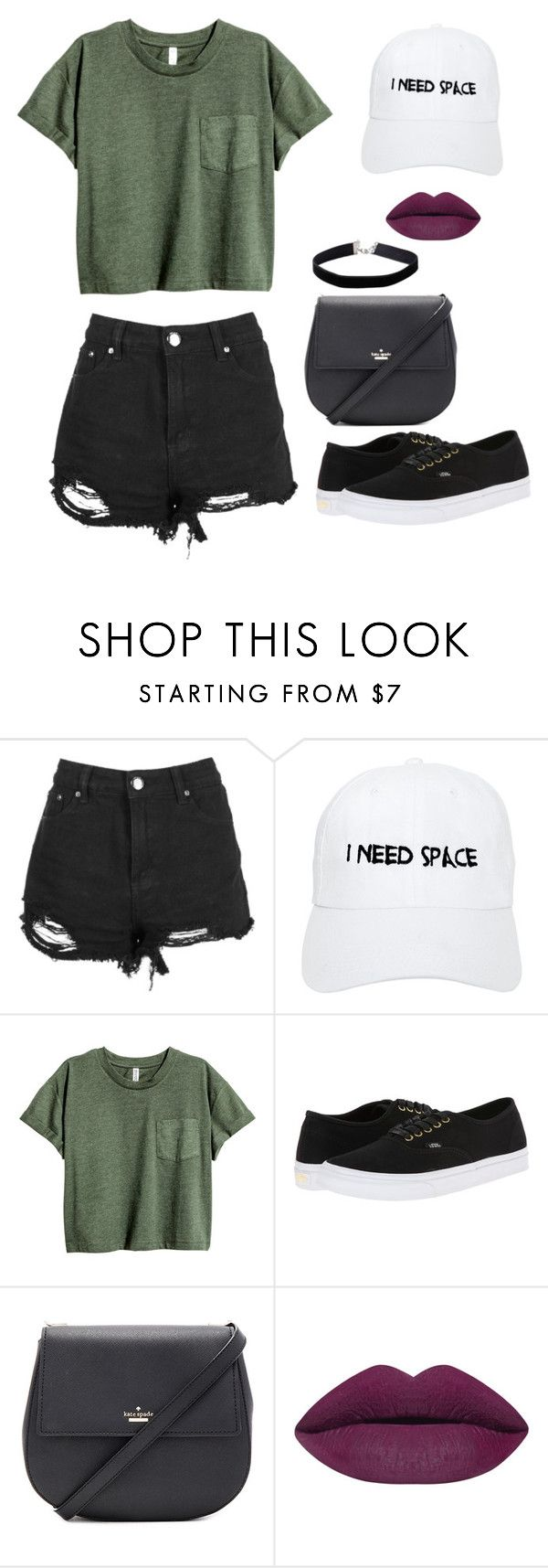"""""""Outfit Choice"""" by jjlexi on Polyvore featuring Boohoo, Nasaseasons, Vans, Kate Spade and Miss Selfridge"""