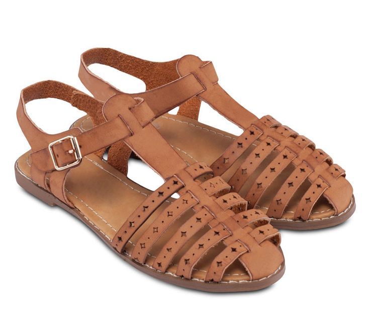 Sunny Flats collection by Rubi. Brown flat sandals that look so cute, this sunny flats made from synthetic leather, almond toe, ankle strap with buckle closure, insole synthetic, sole synthetic, with tan color, great flats for holiday.    http://www.zocko.com/z/JINL0