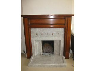 1930s Fireplace. Tooting