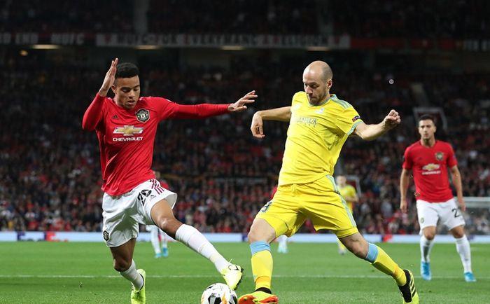 Result Manchester United 1 0 Lokomotiv Astana Uefa Europa League Match Time 20 9 2019 03 00 Friday Gmt 8 Manchester United S Greenwood Scored