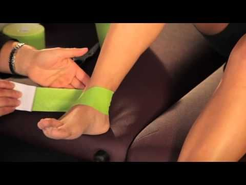 How to Tape an Ankle Sprain with PerformTex Kinesiology Tape