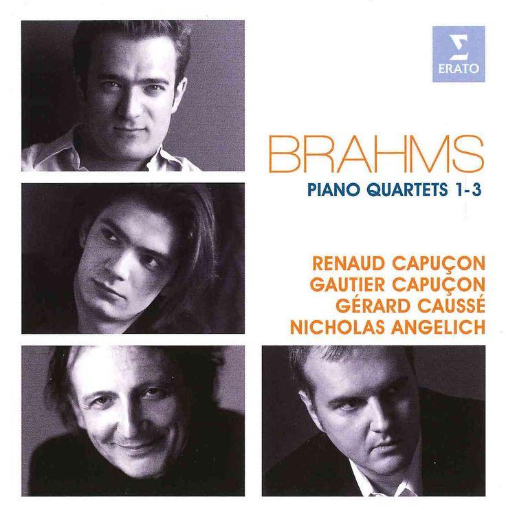Renaud Capucon - Brahms: Piano Quartets