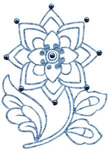 Embroidery | Free Machine Embroidery Designs | Bunnycup Embroidery | Jacobean Redwork
