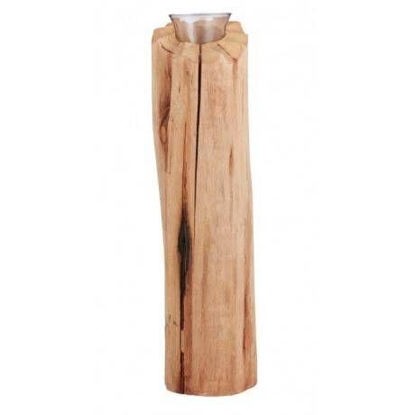 MediumHand Carved Idaho Tealight Holder