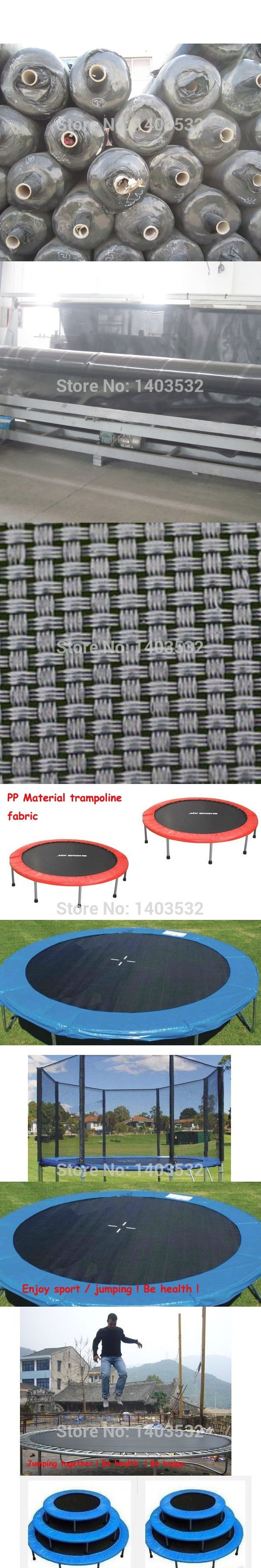 PP Material Trampoline  accessories fabric 100% polypropylene safety Jumping Bed  Bounding Bed Fabric Color Black