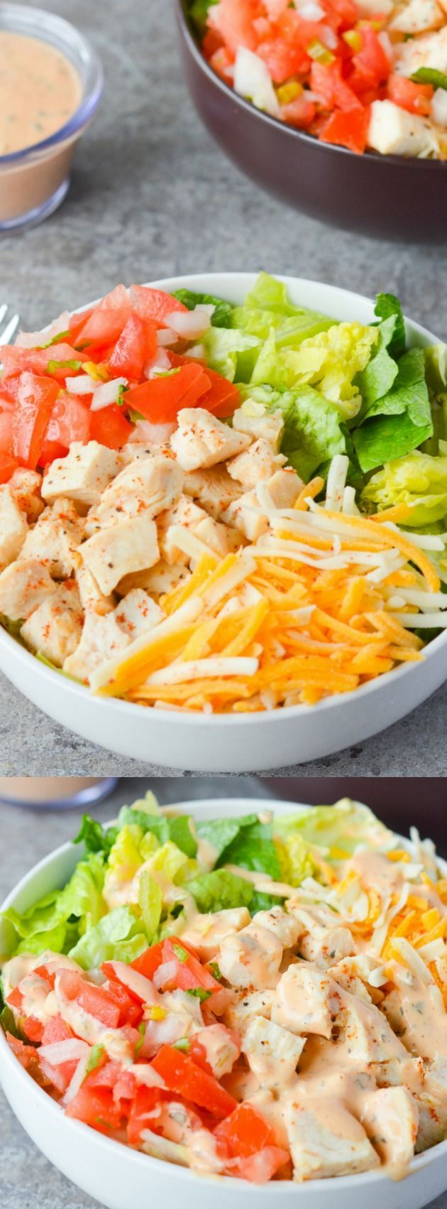 This Southwest Chicken Salad from Hey Keto Mama is an all time favorite. It's crisp, refreshing, and has just the right amount of kick!