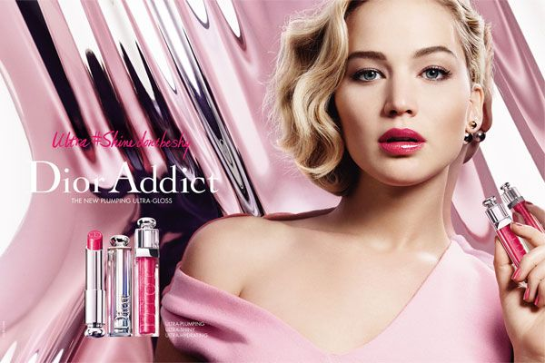 Jennifer Lawrence Dior Addict Ad