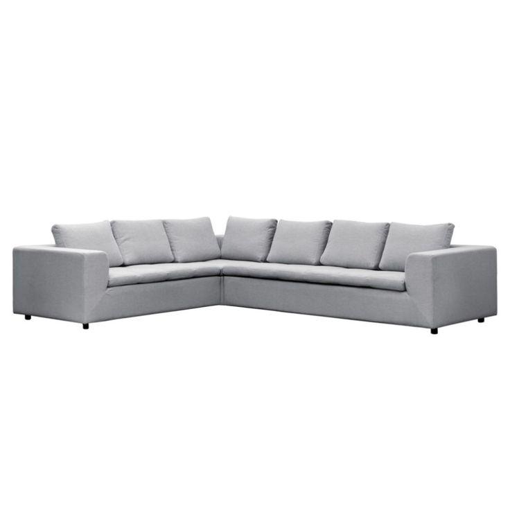 Die besten 25+ Sofa hellgrau Ideen auf Pinterest Couch hellgrau - gemtliche ecksofas