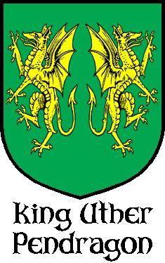 Вариант герба Утера Пендрагона