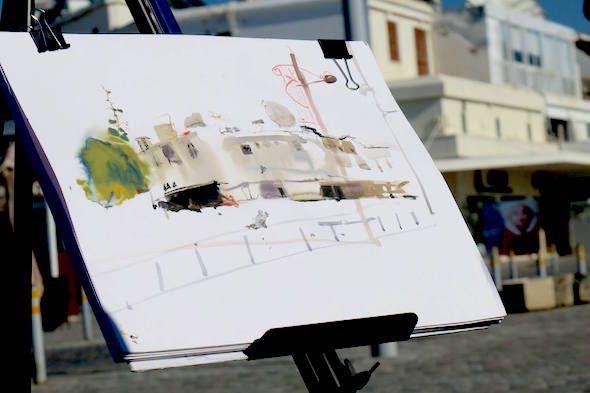 Демонстрация. Архитектура в исполнении Александра Воцмуша