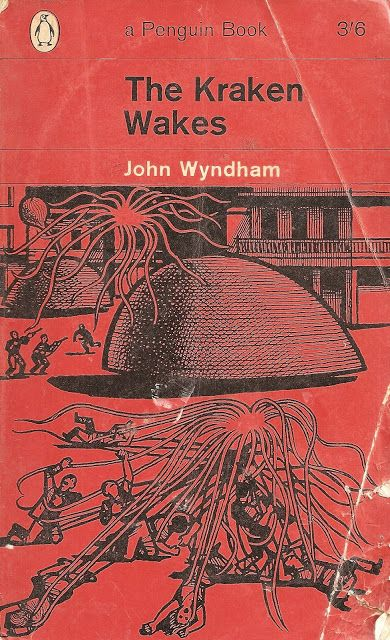 The Kraken Wakes is an apocalyptic science fiction novel by John Wyndham from 1953.   It explores how humankind responds to the threat of its own extinction in face of rising sea levels and, ultimately, asks what we are prepared to do in order to survive.