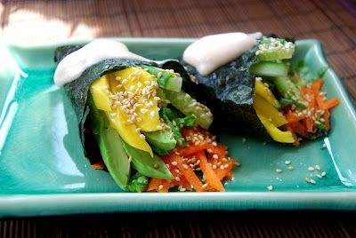 Vegan salad sushiVegan Eating, Finding Vegan, Healthy Eating, Kirsten Kitchens, Strictlyvegan Salad, Salad Sushi, Vegan Creations, Parttim Vegan, Vegan Salads