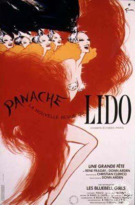 Lido, René Gruau, 1986