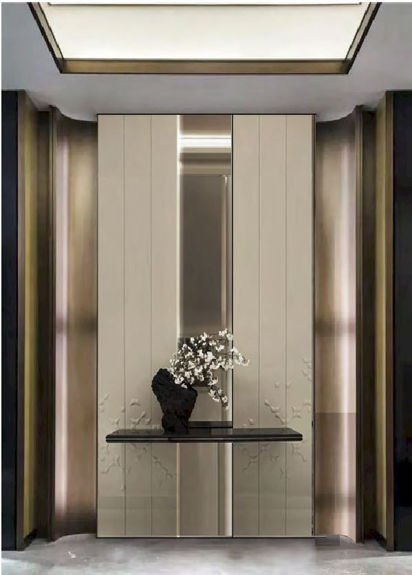 foyer . luxury . modern . minimal