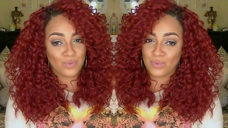 Friday Night Hair GLS78 XMAS RED Synthetic Lace Front