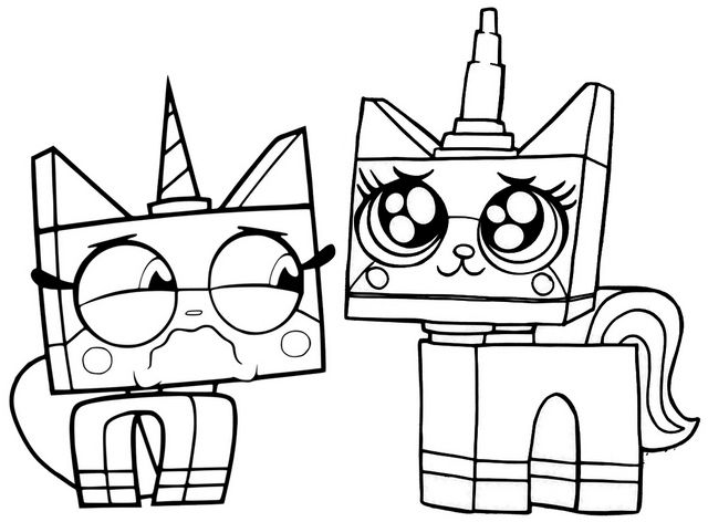 Angry Coloring Pages Unikitty 2020
