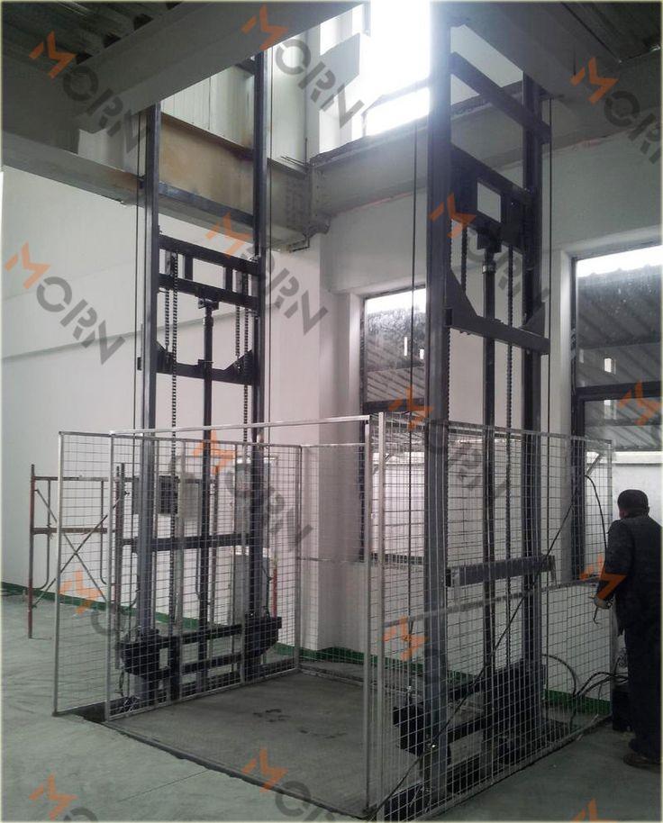 Morn cargo lift indoor use cargo freight elevator for Indoor elevator